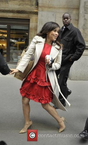 Rosie Perez - Variety's Power of Women: New York luncheon - Manhattan, New York, United States - Friday 24th April...