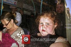 Sony, Glasgow Scotland, omnibus and Child bus