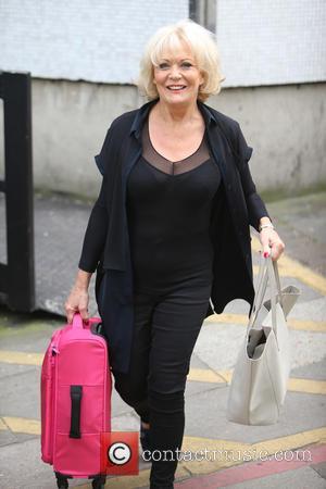 Sherrie Hewson - Sherrie Hewson outside ITV Studios - London, United Kingdom - Friday 24th April 2015