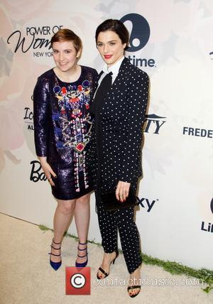 Lena Dunham and Rachel Weisz
