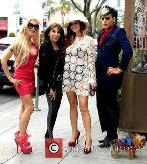 Frenchy Morgan, Kate Linder, Phoebe Price and Sham Ibrahim