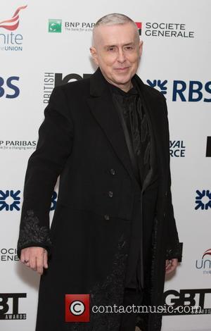 Holly Johnson - British LGBT Awards at the Landmark Hotel - Arrivals at Landmark Hotel - London, United Kingdom -...