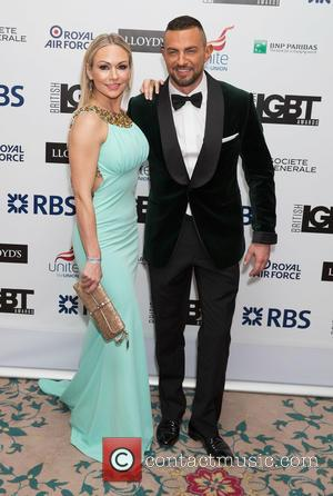 Kristina Rihanoff - British LGBT Awards at the Landmark Hotel - Arrivals at Landmark Hotel - London, United Kingdom -...