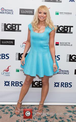 Liz McLarnon - British LGBT Awards at the Landmark Hotel - Arrivals at Landmark Hotel - London, United Kingdom -...