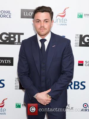 Ray Quinn - British LGBT Awards at the Landmark Hotel - Arrivals at Landmark Hotel - London, United Kingdom -...