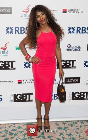 Sinitta - British LGBT Awards at the Landmark Hotel - Arrivals at Landmark Hotel - London, United Kingdom - Friday...