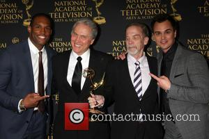 Lawrence Saint-Victor, Gordon Sweeney, unknown, Outstanding Technical Team, Bold, Beautiful and Darin Brooks