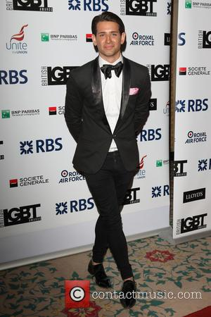 Ollie Locke - British LGBT Awards at the Landmark Hotel, London at Landmark Hotel - London, United Kingdom - Friday...