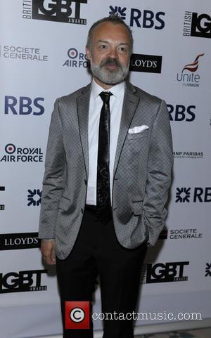 Graham Norton - British LGBT Awards at the Landmark Hotel - Arrivals at The Landmark Hotel - London, United Kingdom...