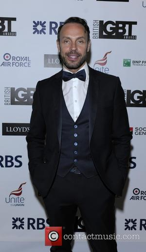 JAson Gardiner - British LGBT Awards at the Landmark Hotel - Arrivals at the Landmark Hotel - London, United Kingdom...