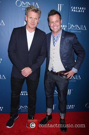Gordon Ramsay and Brian Malarkey - Omnia Nightclub at Caesars Palace Kicks Off Grand Opening Weekend with Naomi Campbell at...