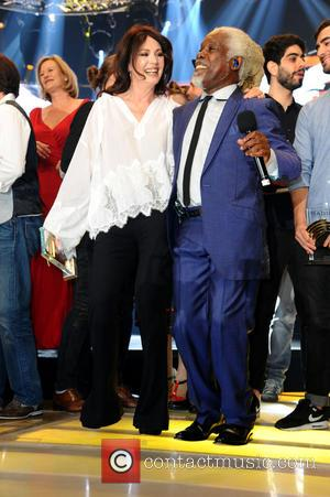Iris Berben and Billy Ocean - Radio Regenbogen Award 2015 after party at Europa-Park at Europa-Park - Rust, Germany -...