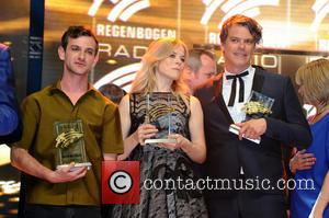 Josef Salvat and The Common Linnets - Radio Regenbogen Award 2015 after party at Europa-Park at Europa-Park - Rust, Germany...