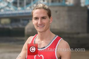 Oliver Proudlock - Virgin London Marathon: Celebrities - photocall and press conference held at The Tower Hotel. - London, United...