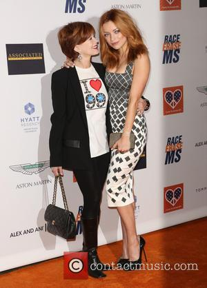 Frances Fisher and Francesca Eastwood - Celebrities attend 22nd annual Race To Erase MS at Hyatt Regency Century Plaza. at...
