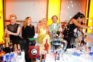 Franziska Knuppe, Katja Flint, Isabel Edvardsson, Jens Hilbert and Barbara Becker