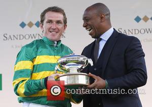 Ian Wright and AP McCoy