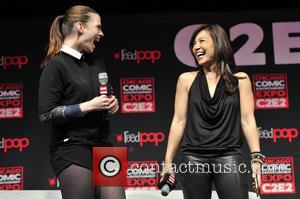 Hayley Atwell and Ming-na Wen