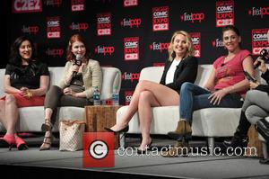 Maria Doyle Kennedy, Jewel Staite, Leah Pipes and Neve Mcintosh