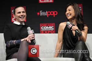 Ming-na Wen and Hayley Atwell