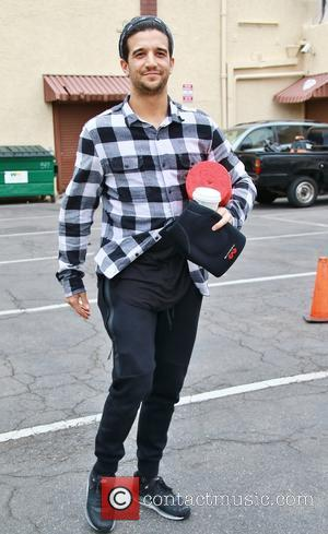 Mark Ballas - Celebrities at the 'Dancing With The Stars' rehearsal studios at DWTS rehearsal studio - Los Angeles, California,...