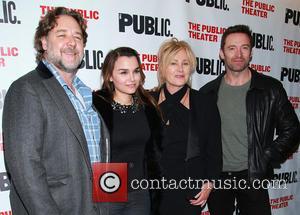 Russell Crowe, Samantha Barks, Deborra Lee Furness and Hugh Jackman