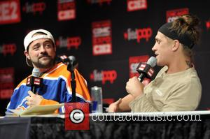 Kevin Smith and Jason Mewes