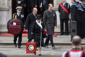 The Queen, The Duke Of Edinburgh, William and Duke Of Cambridge