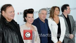 Paul Sorvino, Debi Mazar, Robert De Niro, Lorraine Bracco and Kevin Corrigan