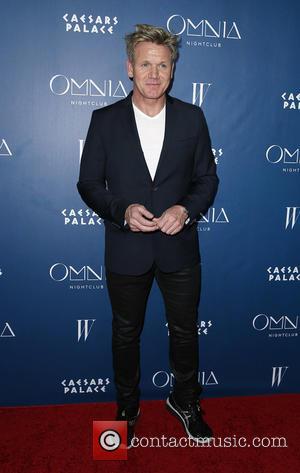 Gordon Ramsay - Omnia Nightclub at Caesars Palace Kicks Off Grand Opening Weekend With Naomi Campbell. at Omnia Nightclub, Caesars...