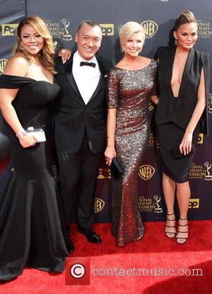 Lauren Makk, Joe Zee, Leah Ashley and Chrissy Teigen