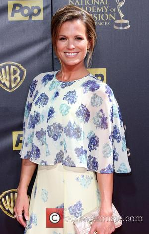 Melissa Claire Egan - The 42nd Daytime Emmy Awards held at Warner Brothers Studios in Burbank, California at Daytime Emmy...