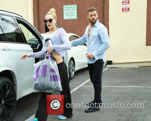 Peta Murgatroyd and Artem Chigvintsev - Celebrities at the 'Dancing With The Stars' rehearsal studios at Dancing With The Stars...