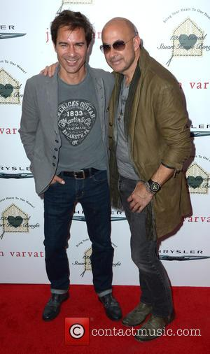 Eric McCormack and John Varvatos - 12th Annual John Varvatos Stuart House Benefit at John Varvatos - Red Carpet Arrivals...