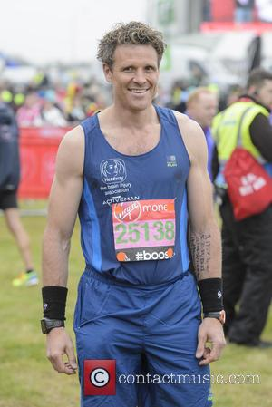 James Cracknell - Virgin Money London Marathon 2015 - Photocall at Blackheath - London, United Kingdom - Sunday 26th April...