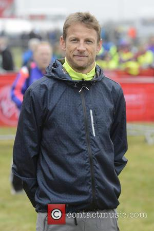 Jenson Button - Virgin Money London Marathon 2015 - Photocall at Blackheath - London, United Kingdom - Sunday 26th April...