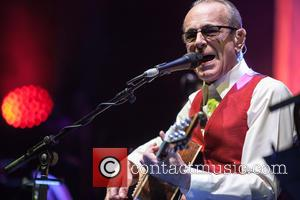 Francis Rossi and Status Quo - Status Quo perform a live acoustic set in concert at the Hammersmith Apollo at...
