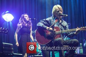Rick Parfitt and Status Quo - Status Quo perform a live acoustic set in concert at the Hammersmith Apollo at...