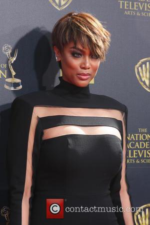 Tyra Banks - A variety of celebrities were photographed as they attended the 42nd Annual Daytime Creative Arts Emmy Awards...
