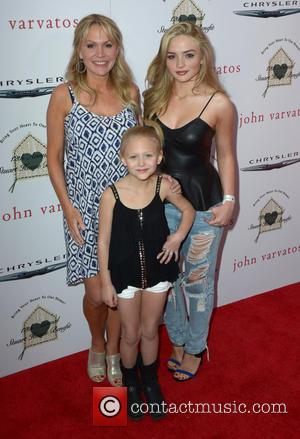 Barbara Alyn Woods, Natalie Alyn Lind and Alyvia Lind - The John Varvatos 12th Annual Stuart House Benefit with Honorary...