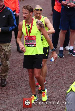 Jenson Button - Virgin Money London Marathon 2015 - London, United Kingdom - Sunday 26th April 2015