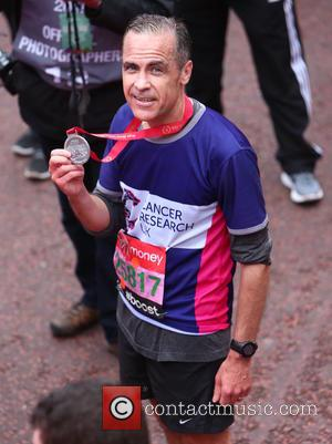 Mark Carney - Virgin Money London Marathon 2015 - London, United Kingdom - Sunday 26th April 2015