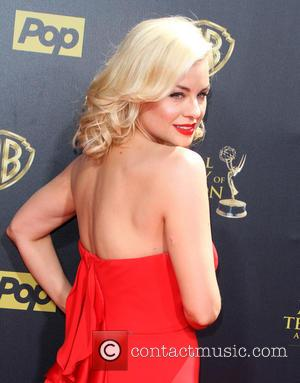 Jessica Collins - The 42nd Daytime Emmy Awards held at Warner Brothers Studios in Burbank, California at Daytime Emmy Awards,...