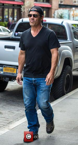 Josh Brolin - Josh Brolin leaving his hotel in New York City at Tribeca - NY, New York, United States...