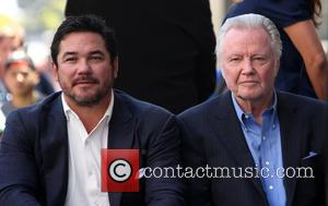 Dean Cain and Jon Voight
