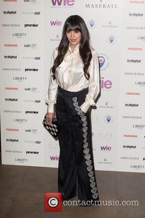 Zara Martin - LDNY fashion show and WIE Award Gala held at Goldsmiths' Hall - Arrivals. - London, United Kingdom...
