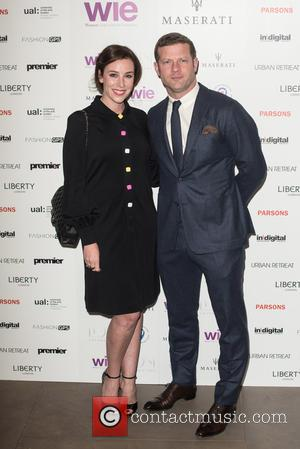 Dermot O'Leary and Dee Koppang - LDNY fashion show and WIE Award Gala held at Goldsmiths' Hall - Arrivals. -...