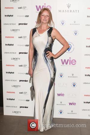 Olivia Inge - LDNY fashion show and WIE Award Gala held at Goldsmiths' Hall - Arrivals. - London, United Kingdom...