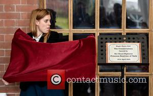 Princess Beatrice - Princess Beatrice visits Maple Hayes dyslexia school in Lichfield to officially open a classroom at the school....