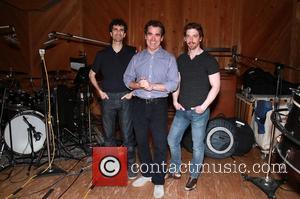 John Cariani, Brian D'arcy James and Christian Borle